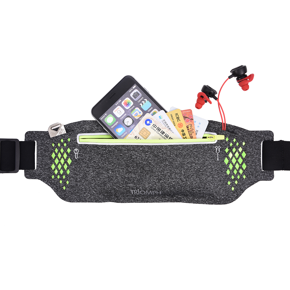 TRWB31 Gray Triomph Running Waist Bag