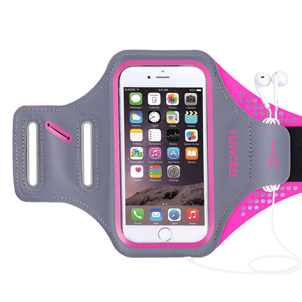 TRAB16  Rose  Waterproof Phone Armband