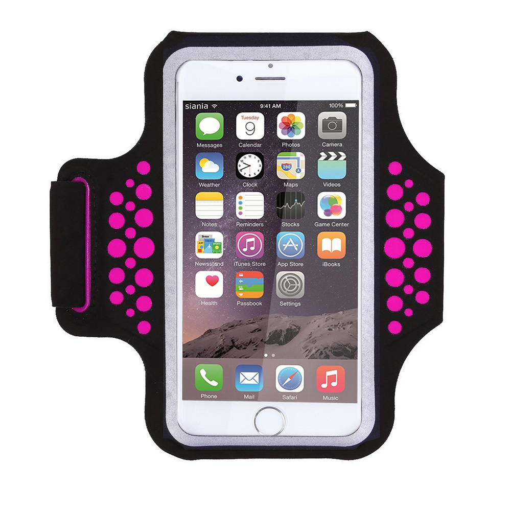 TRAB17  Rose   Waterproof Phone Armband