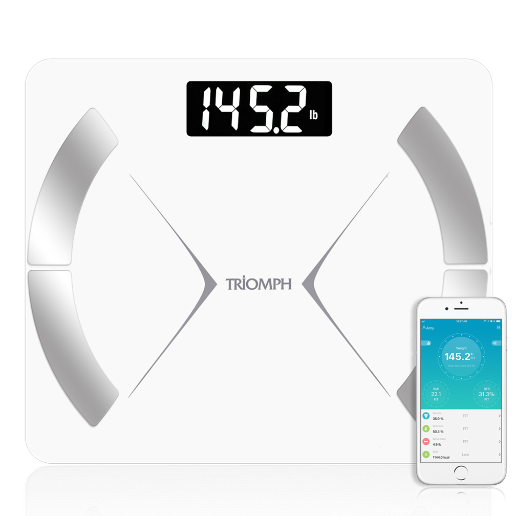 TRSC20  Triomph Bluetooth Smart Body Fat Scale