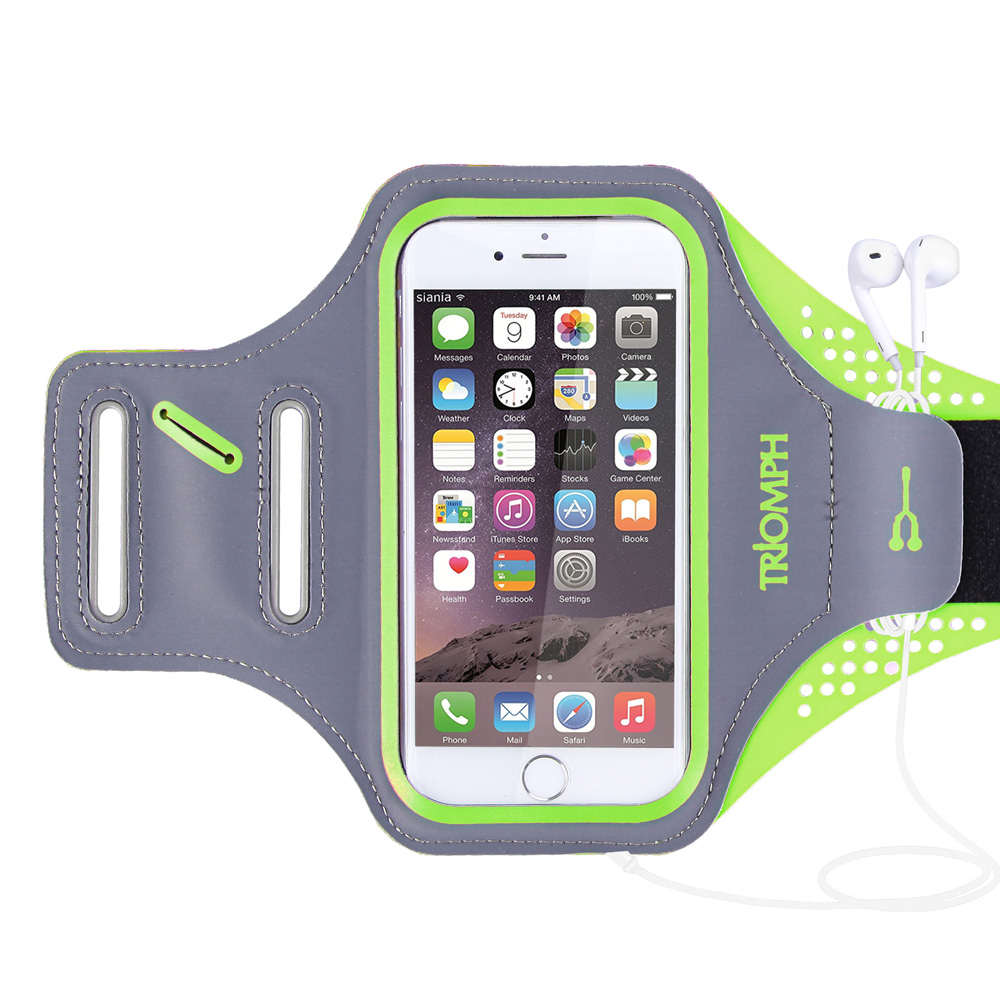 TRAB16 Green Waterproof Phone Armband