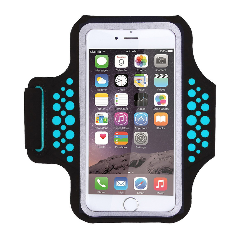 TRAB17 Blue Waterproof Phone Armband