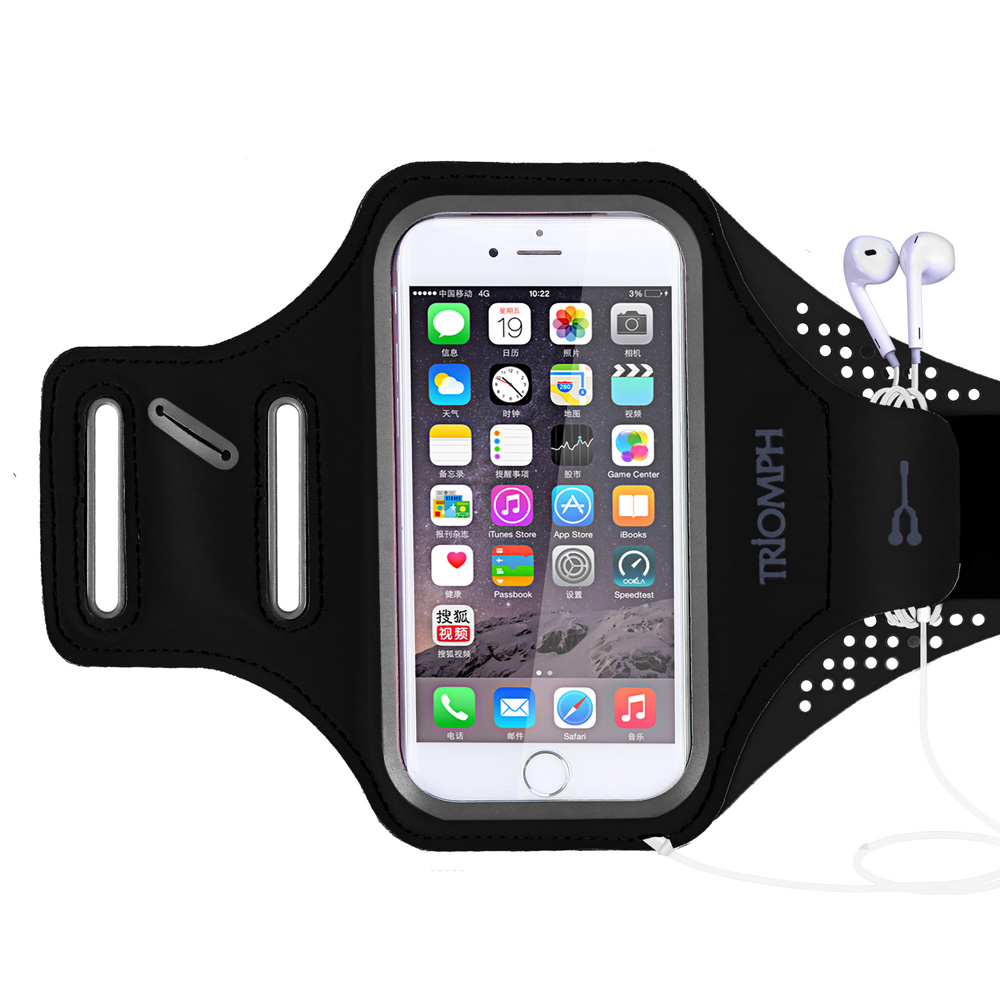 TRAB16 Black Triomph Waterproof Phone Armband