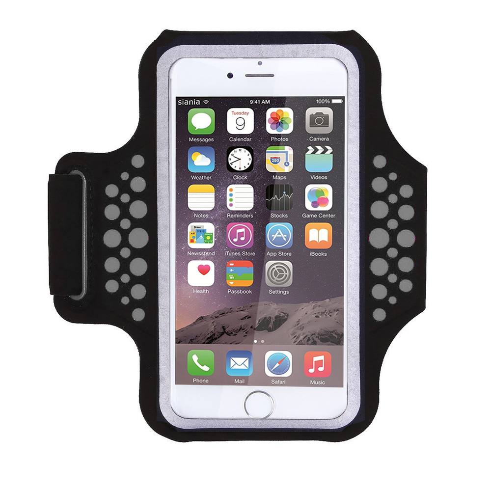 TRAB17 Black  Waterproof Phone Armband