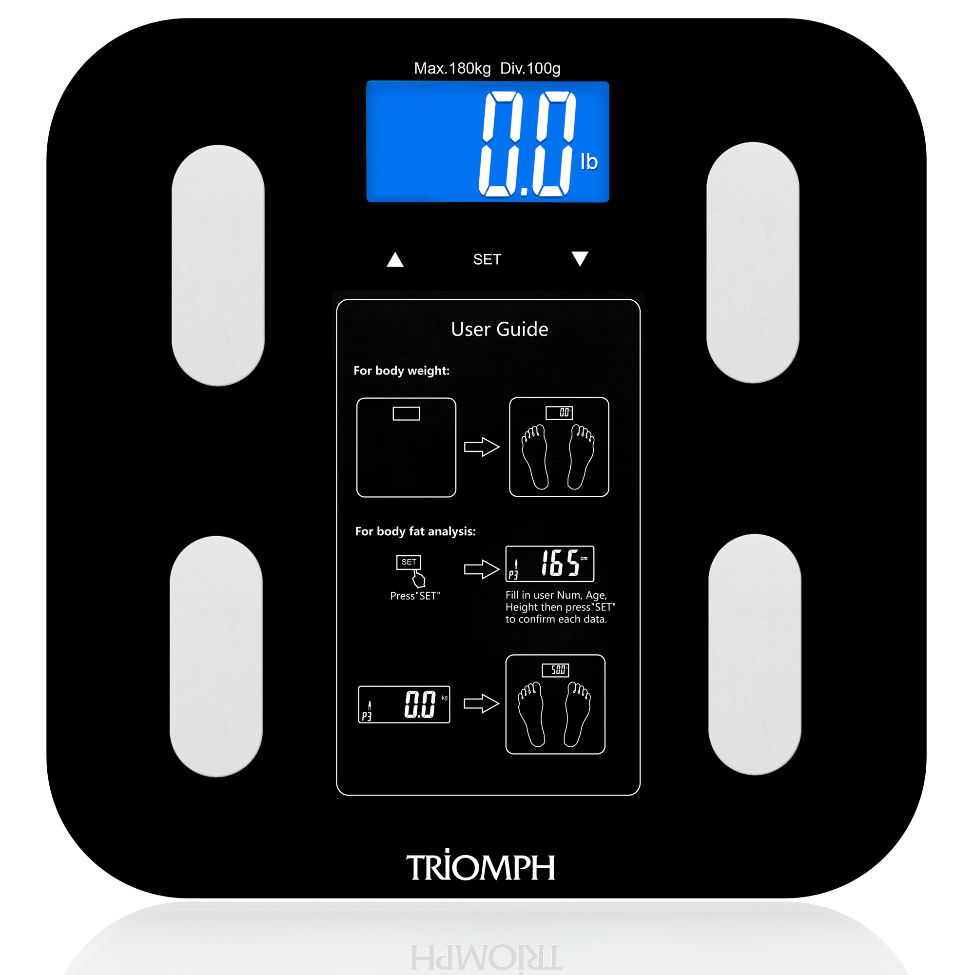 TRSC36 Triomph Body Weight Scale