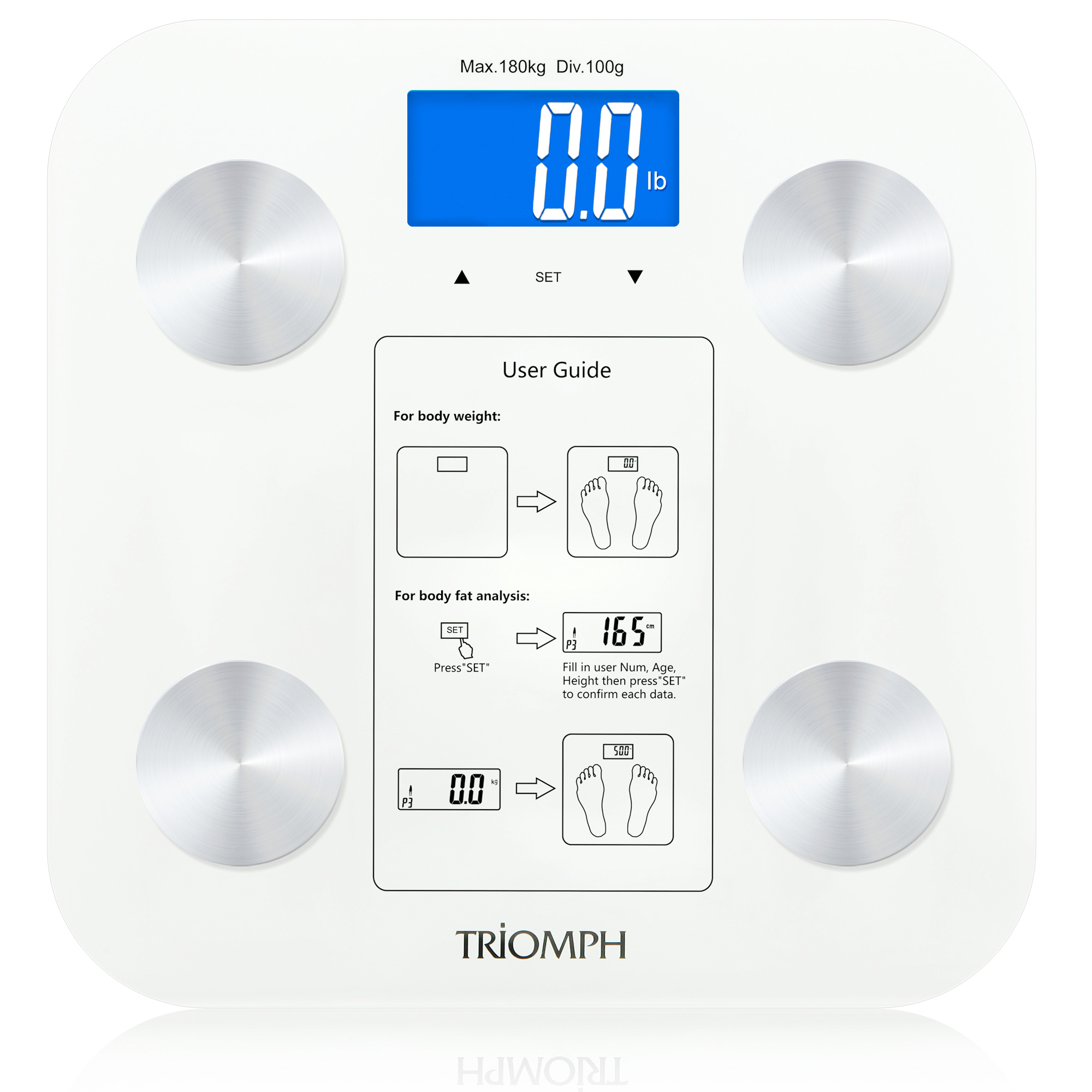 TRSC37 Triomph Body Weight Scale