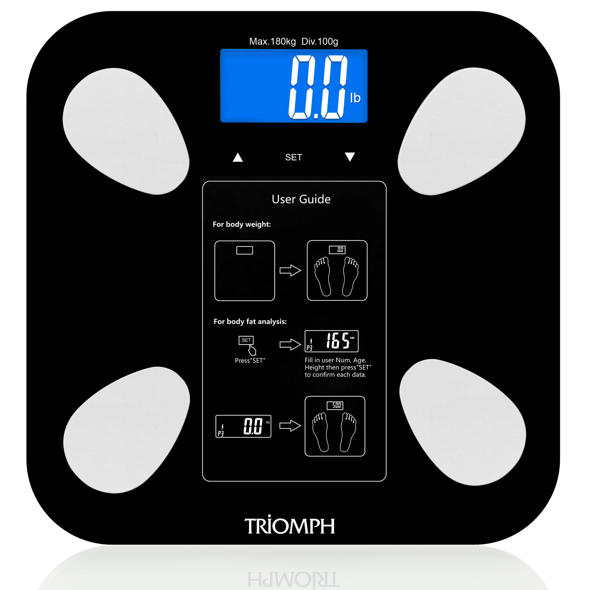 TRSC38 Triomph Body Weight Scale