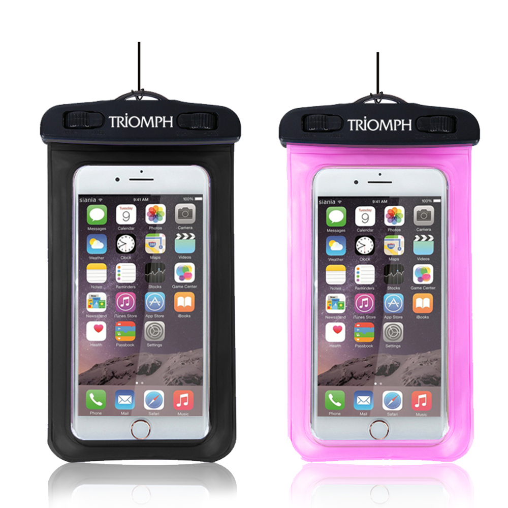 TRAB25 Triomph Waterproof Phone Pouch